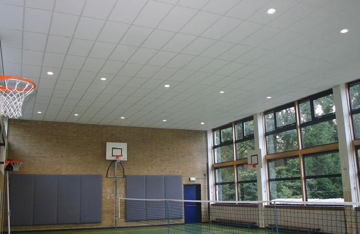 Sportplafonds voor lorentz casimir lyceum atis acoustics for Lorentz lyceum